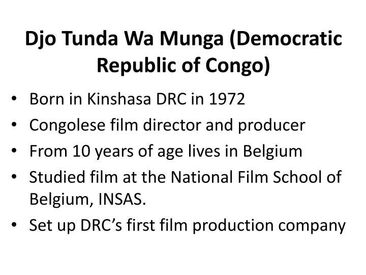 Djo Tunda Wa Munga