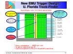 new emu trigger design u florida track finder