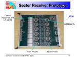sector receiver prototype
