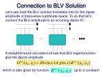 connection to blv solution1