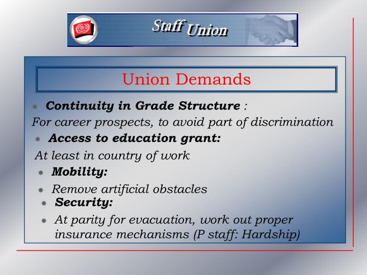 Continuity in Grade Structure