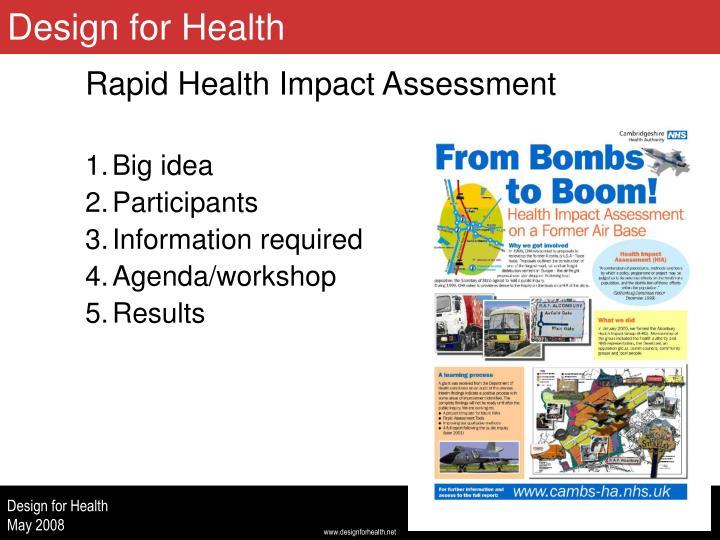 Design for Health