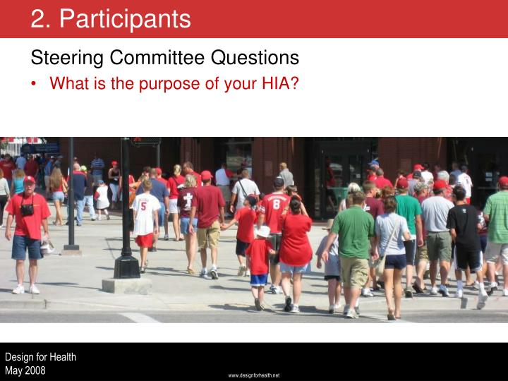 Steering Committee Questions