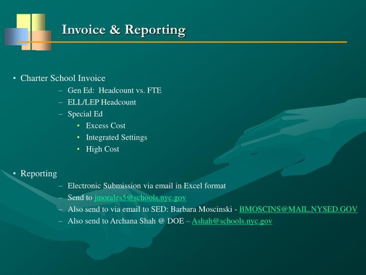 Invoice & Reporting