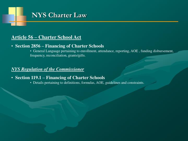 NYS Charter Law