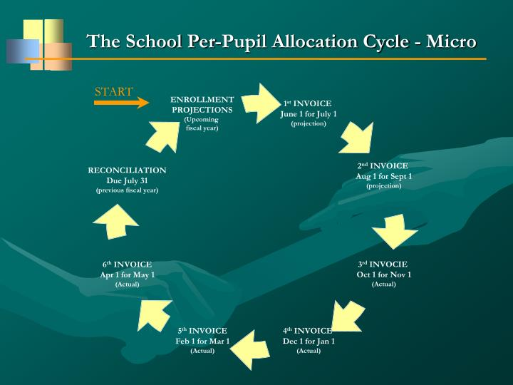 The School Per-Pupil Allocation Cycle - Micro
