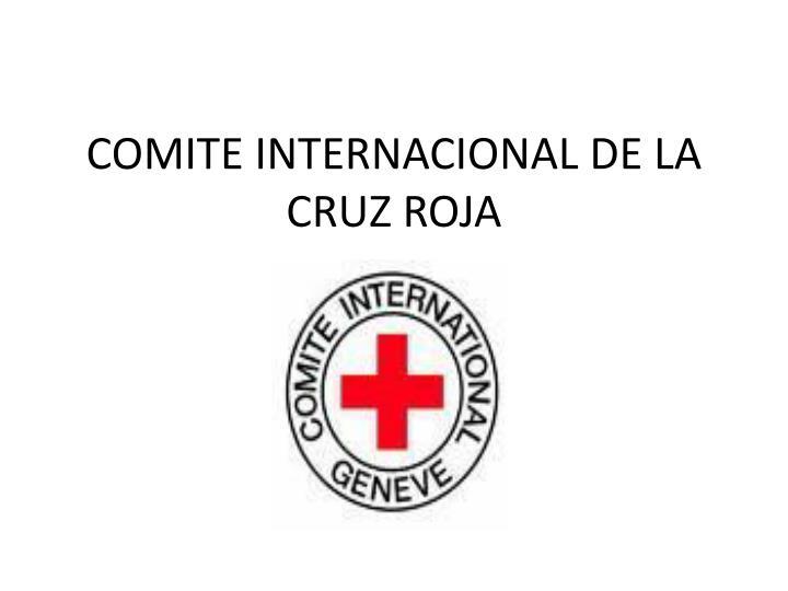 comite internacional de la cruz roja n.
