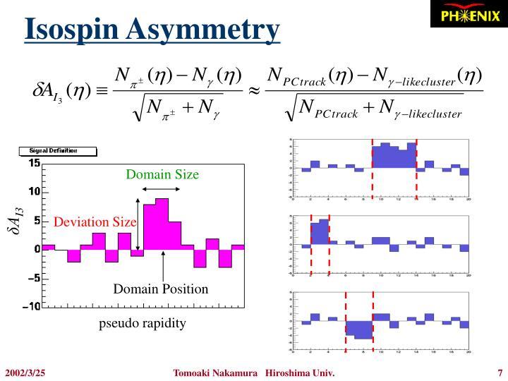Isospin Asymmetry