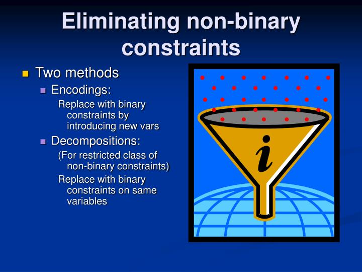 Eliminating non binary constraints1