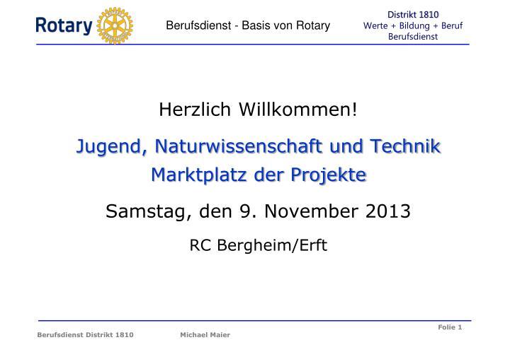berufsdienst basis von rotary n.