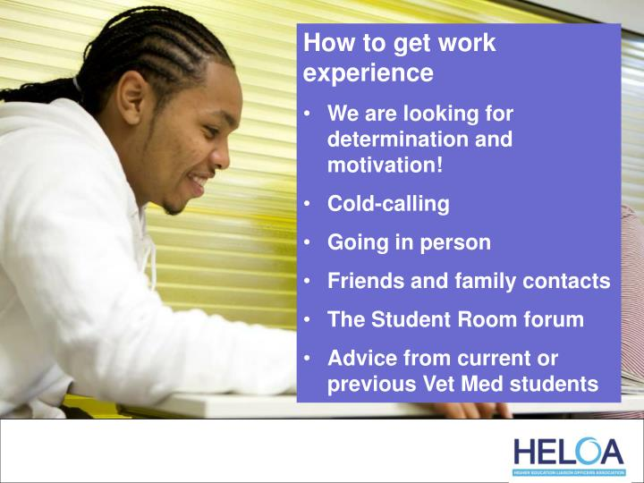 How to get work experience