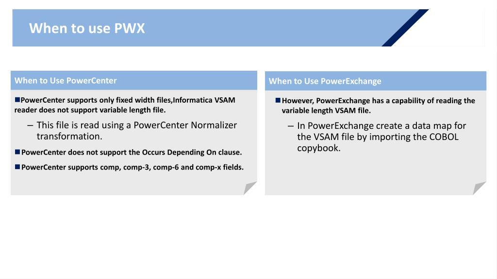 PPT - Informatica PowerExchange 9 X PowerPoint Presentation - ID:3285010