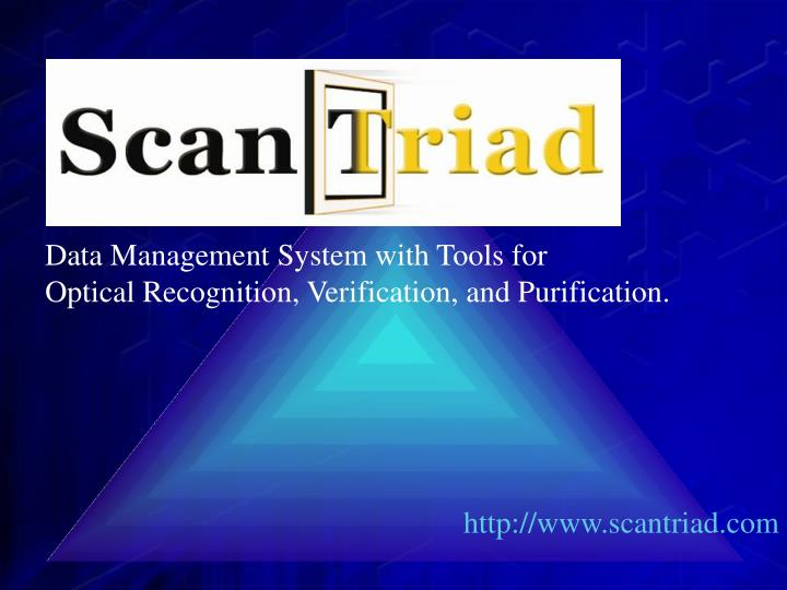 Data Management System with Tools for