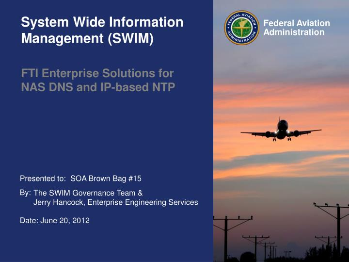 fti enterprise solutions for nas dns and ip based ntp n.