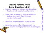 helping parents avoid being investigated 2