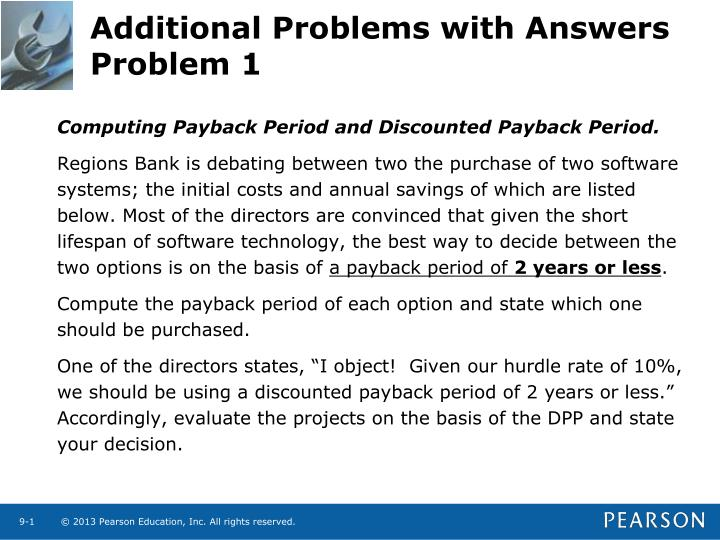 additional problems with answers problem 1 n.