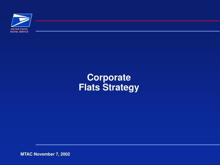 corporate flats strategy n.