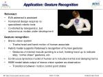 application gesture recognition
