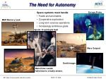 the need for autonomy