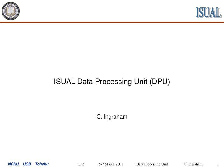 isual data processing unit dpu n.