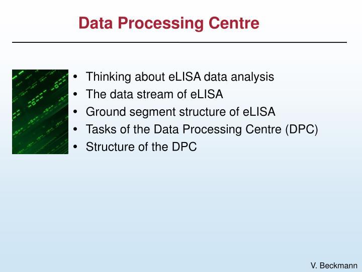 Data processing centre