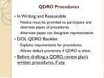qdro procedures