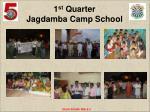 1 st quarter jagdamba camp school