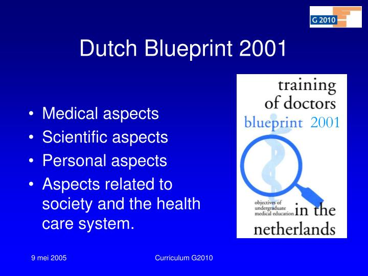 Dutch Blueprint 2001