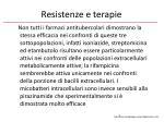 resistenze e terapie1