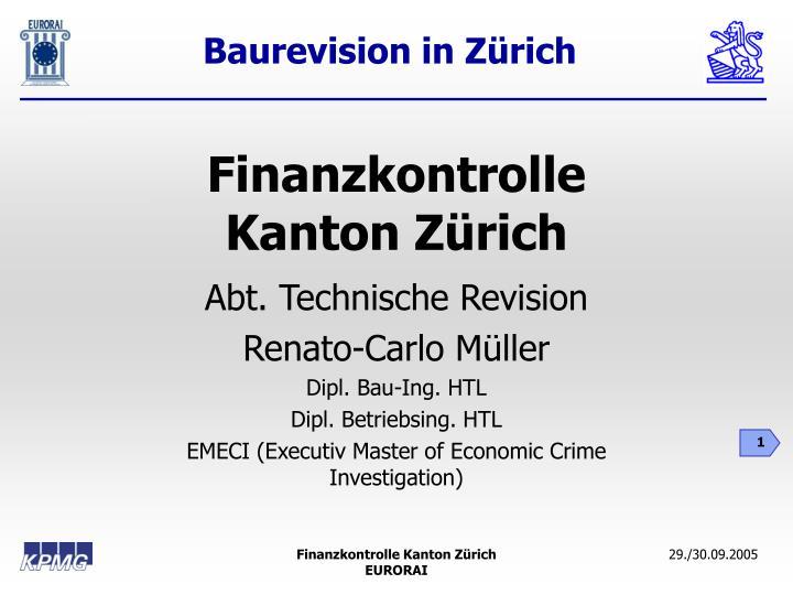 Finanzkontrolle kanton z rich