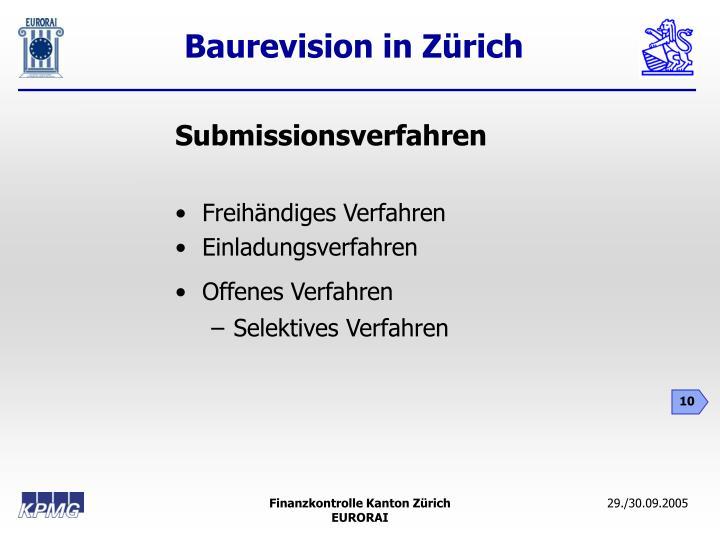 Submissionsverfahren