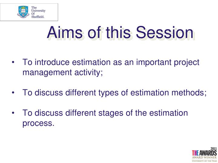 why estimation is important in project management