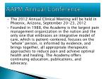aapm annual conference