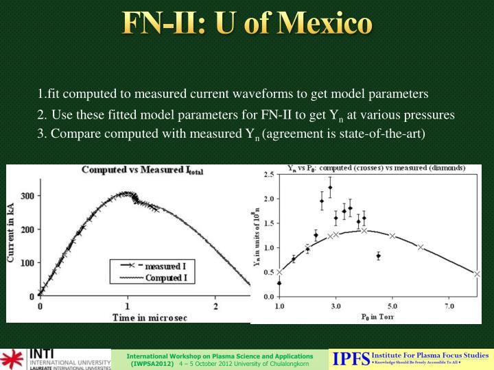 FN-II: U of Mexico