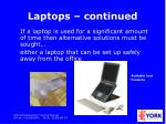 laptops continued