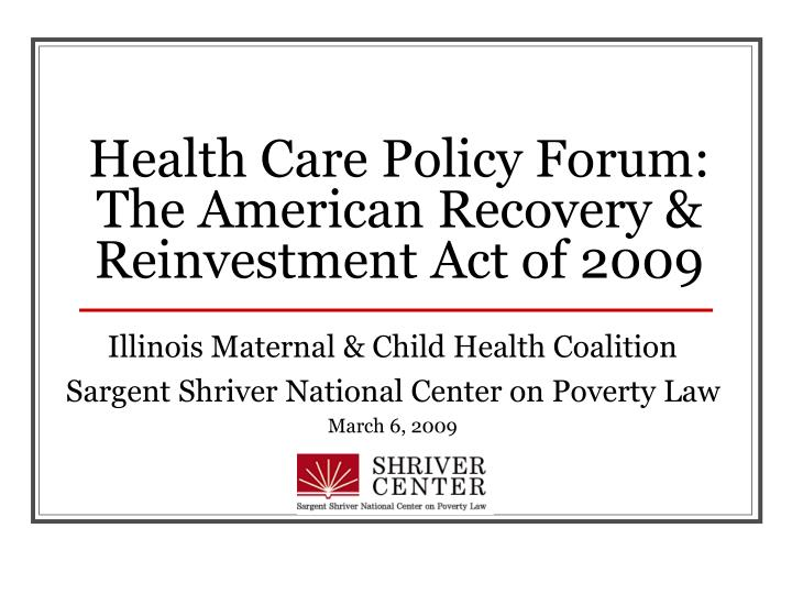 the american recovery and revitalization act of American recovery and reinvestment act creating jobs, cutting taxes and promoting economic revitalization in pennsylvania the american recovery and reinvestment act, which was just enacted with my support, will.