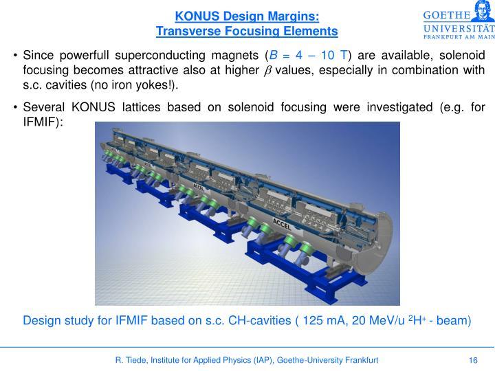 KONUS Design Margins: