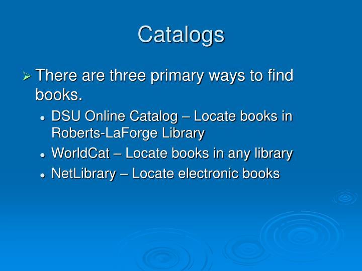 catalogs n.