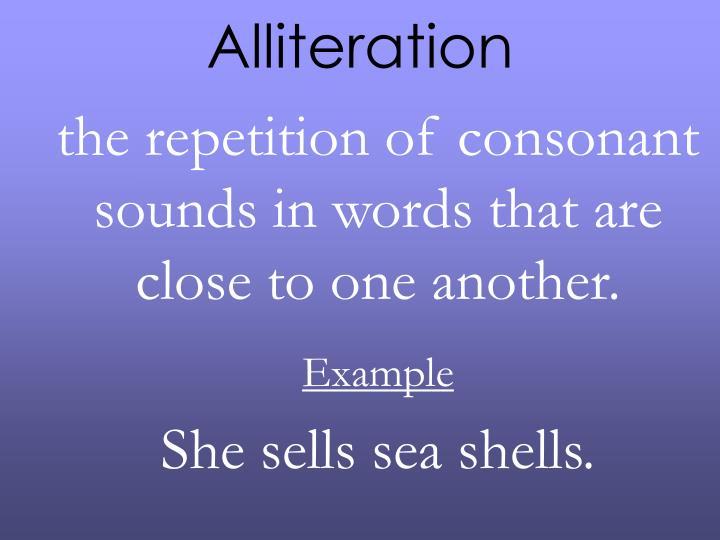 Ppt Alliteration Powerpoint Presentation Id3287705