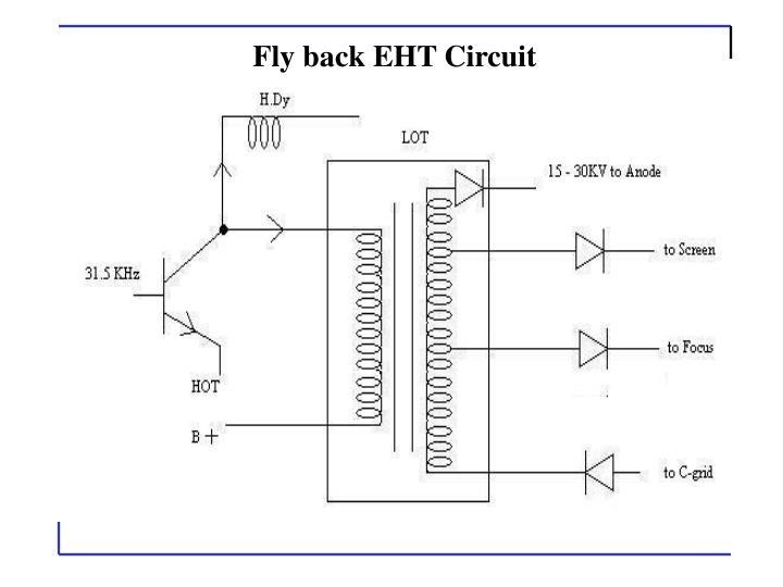 Fly back EHT Circuit