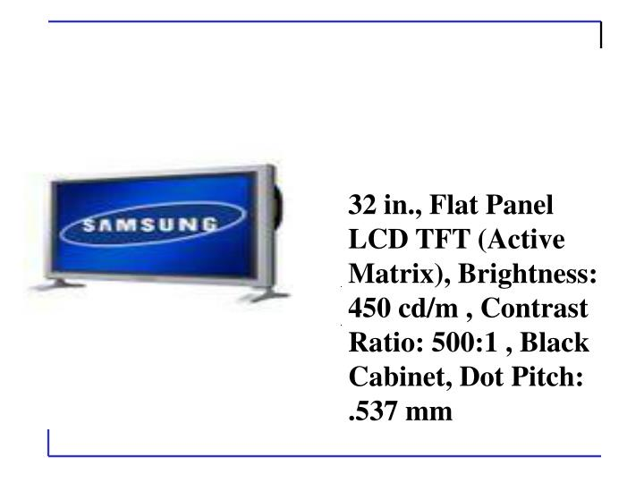 Samsung 323T (Black) 32 in. Flat Panel LCD Monitor