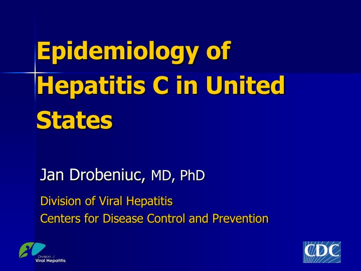 epidemiology of hepatitis c in united states n.