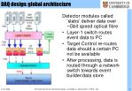 daq design global architecture