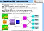 ilc calorimeter daq system overview