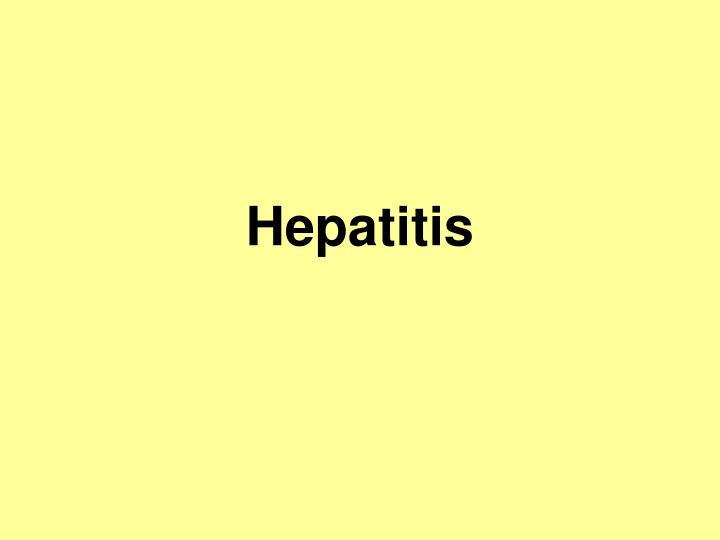 hepatitis n.