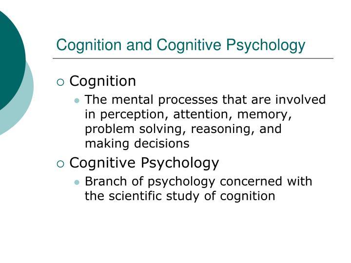 problem solving cognitive psychology
