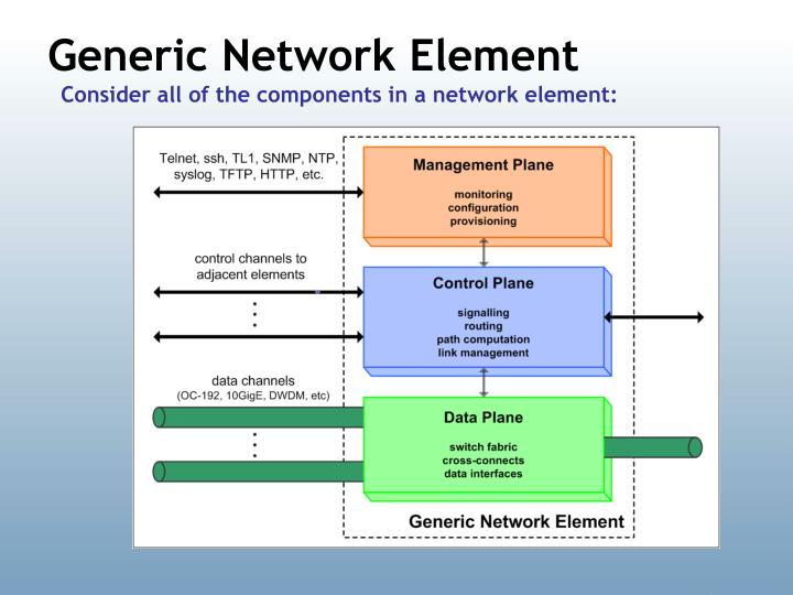 Generic Network Element