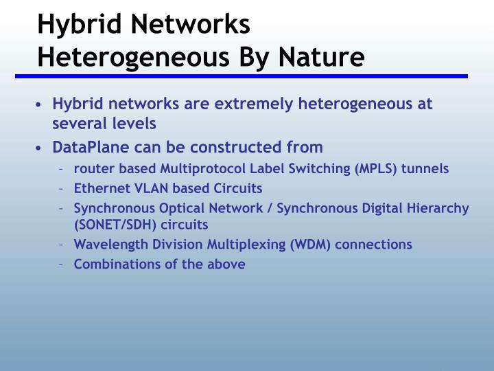 Hybrid Networks