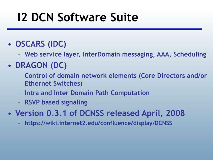 I2 DCN Software Suite