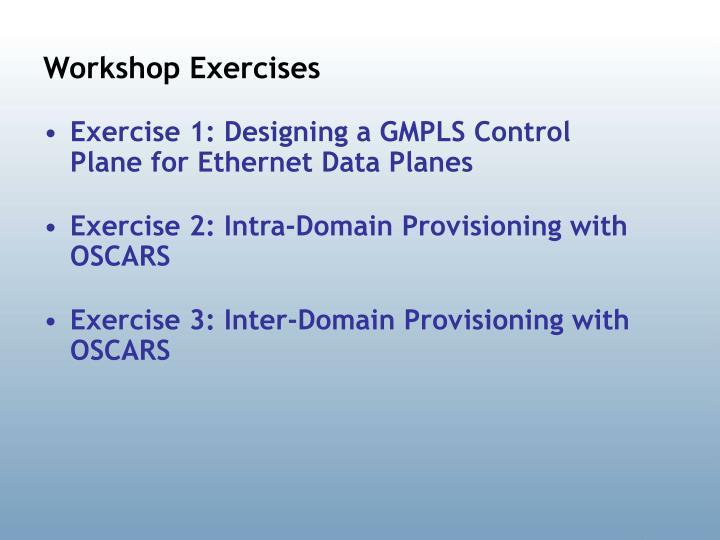 Workshop Exercises
